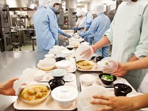 病院給食の調理